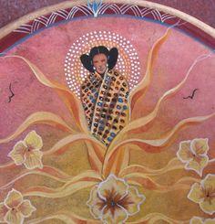 Hopi Corn Maiden: Sweet Medicine Drums