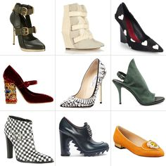 """What are the season's """"it"""" shoes? We've got the top picks from every designer. #shoes"""
