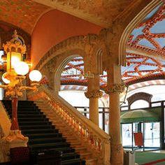 Interior del  Palau de la Música Catalana, Barcelona