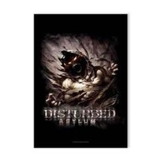 Disturbed Big Fade Asylum Fabric Poster - Featuring graphics from their 5th studio album, Asylum, this Disturbed Big Fade Asylum Fabric Poster is sure to liven up your wall. 30 x 40.