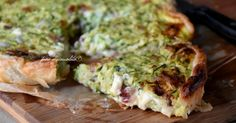 Torta di zucchine a freddo ma al forno