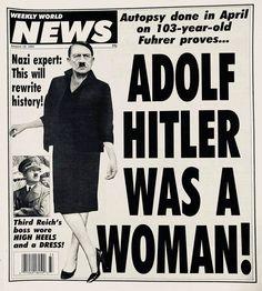 Hitler was a woman! OMG