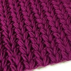 Faux Knit Puffy Cowl...Faux knit crochet stitch...free pattern!