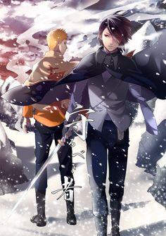 Naruto// Sasuke and Naruto