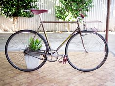 Rat Bikes! Pub Bikes Beaters! Frankenbikes! (page 535) | LFGSS Touring Bicycles, Bike Art, Fixed Gear, Bike Life, Rat Bikes, Tired, Cube, Cycling, Track