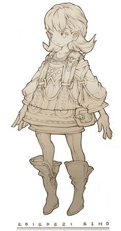 韩DungeonStrike... Character Poses, Female Character Design, Character Costumes, Character Design References, Character Design Inspiration, Character Concept, Character Art, Concept Art, Figure Sketching