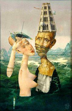 Zdeněk Janda Surreal Art, Surrealism, Creative, Pictures, Painting, Inspiration, Art Ideas, Artists, Inspiring Art