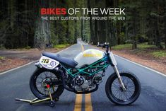 Custom Bikes Of The Week: 15 April 2018