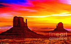 http://fineartamerica.com/featured/sunrise-monument-valley-mittens-nadine-and-bob-johnston.html