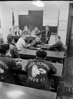 whattheendoftheworldlookedlike:  National Hot Rod Association's Drag Racing Meeting, Santa Ana, California, 1950s.