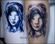 #tattoo #geisha #selfie #tattooist #illustration #artwork #sketch #ink #artist #watercolor #trashpolka #tattooidea #drawing #inkmaster #tattooartist