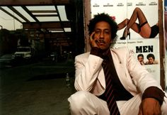 Andre Royo - 'Bubbles' from The Wire  http://www.imdb.com/name/nm0747420/