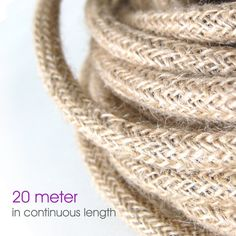Linen Fabric Cloth Covered Wire Electrical Cord Braided by fatroo ...