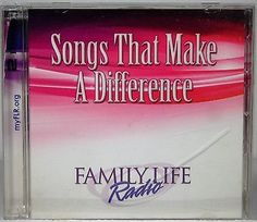 Family Life Radio Songs that make a Difference 2 CD Set 2010 Christian Music