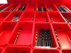 Drill bit storage