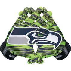 Nike Seattle Seahawks NFL Vapor Jet 3.0 Authentic Gloves