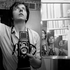 Vivian Maier with Rolleiflex