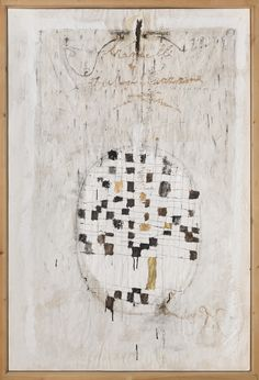 Magdalo Mussio Senza titolo (Brandelli di autoghettizzazione), 1975-80 circa Tecnica mista su carta 149,5 x 99,5 cm