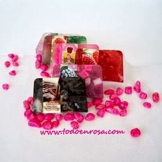 Todoenrosa: El jabón - Jabones de glicerina