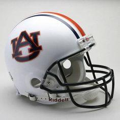Auburn University Tigers football game helmet