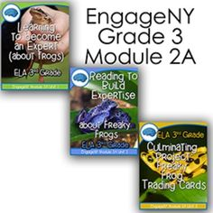 Third Grade EngageNY Module 2A complete files for units 1, 2, and 3. Lesson plans, powerpoint, anchor charts and common core tracking tools are all available for download.THIS FILE IS HUGE!!!Look at all of the units individually to see what is included in this massive deal!Unit 1Unit 2Unit 3DIRECTIONS: Unit 1 and 2 will be in the download, but in the read me file you will have a link to download unit 3.