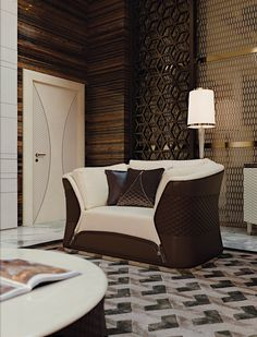 Vogue Collection www.turri.it Luxury italian leather armchair