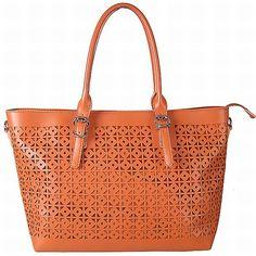 Bata Handbag In Orange Color Pop Summer Colors You Look