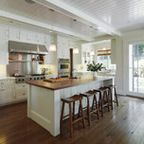 Breezy Brentwood - traditional - kitchen - los angeles - by Jill Wolff Interior Design