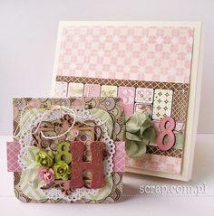 Albumik w pudełku Office Supplies, Boxes, Scrapbooking, Crates, Box, Scrapbooks, Cases, Memory Books, Scrapbook