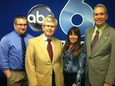 Rob visited WSYX ABC 6 last night to volunteer for the ABC 6 On Your Side Ask an #Attorney call-in! He took calls and answered legal questions from viewers!  If you have any legal questions for Rob, give him a call at our office! #Columbus #Ohio #Law