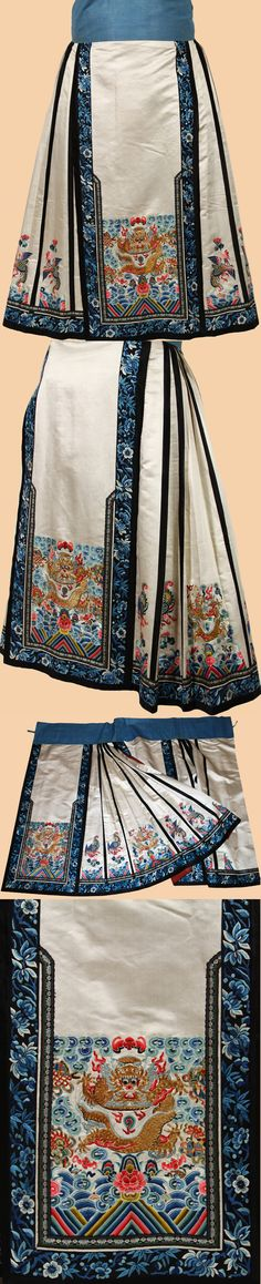 Antique Chinese Skirt