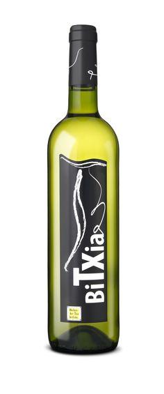 Bitxia txakoli Zuria - Blanco (Vino blanco - White wine)