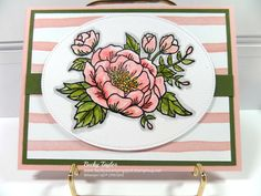 Birthday Blooms, Birthday Bouquet DSP, watercolor stampinup