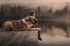 Lindas fotos de crianças e seus animais de estimação (1)