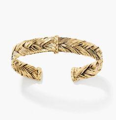 Bracelet tressé Aurélie Bidermann