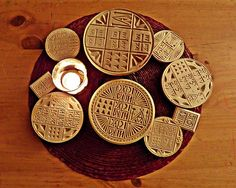 Liturgical Bread Stamps by Sarah Loft Liturgical Seasons, Altar Cloth, Crosses Decor, Orthodox Christianity, My Heritage, Hand Carved, Cool Photos, Bread, Molde