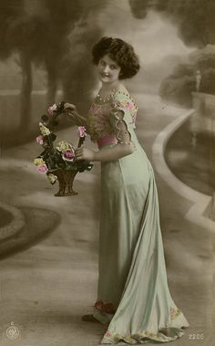 Vintage Tinted Postcard