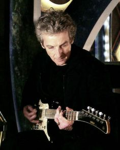 """I'm sure if Shakespeare were alive today, he'd be doing classic guitar solos on YouTube."" - Peter Capaldi """