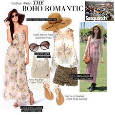 Festival Wear: The Boho Romantic