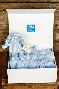 Luxury 9 Piece Presentation Gift Box for a Baby Boy