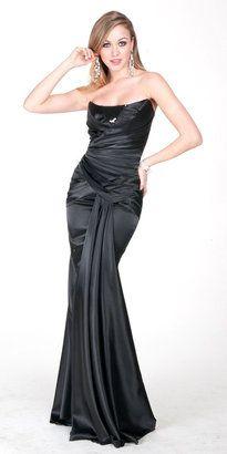 Strapless Draped Prom Dresses by Atria  $270.00 at eDressMe
