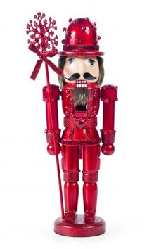 Red Wood Nutcracker from I Love Christmas
