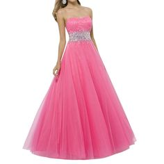 LETSQK Women's Elegant Narrow A-line Pink Strapless Beaded Zipper Prom Dresses 12. You'd better ask someone else to take the measurements for you, please wear the underwear similar to what you will wear in the event when taking the measurements. Our professional workers who have at least 5 years experience will make the style because of a lot of hand beading work involved. our QC staffs would check all finished dresses, only when there is no problem the dress will be shipped directly from...