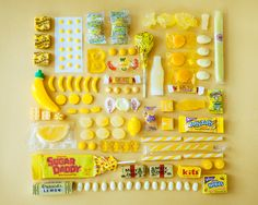 Yellow candy by Emily Blincoe.