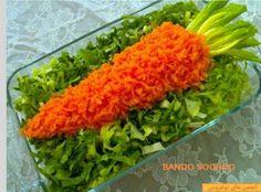 Food Food Design, Salad Design, Amazing Food Decoration, Vegetable Snacks, Food Carving, Food Garnishes, Food Platters, Food Crafts, How To Make Salad