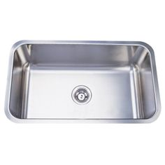 Stainless Steel 30-inch Extra Deep Kitchen Sink | Overstock.com Shopping - The Best Deals on Kitchen Sinks