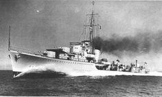 HMS Kelly (F 01) of the Royal Navy - British Destroyer of the K class - Allied Warships of WWII - uboat.net