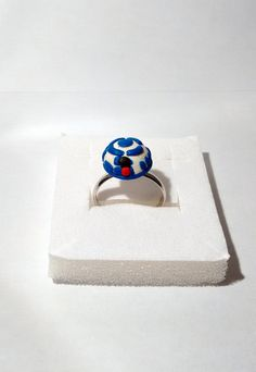 """Star Wars """"R2D2"""" Ring by Lorybitlittleshop on Etsy"""