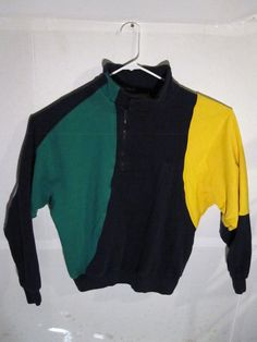 vintage nautica cut and sew sweater vintage 90s mens size medium  | eBay