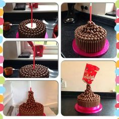 How to gravity cake